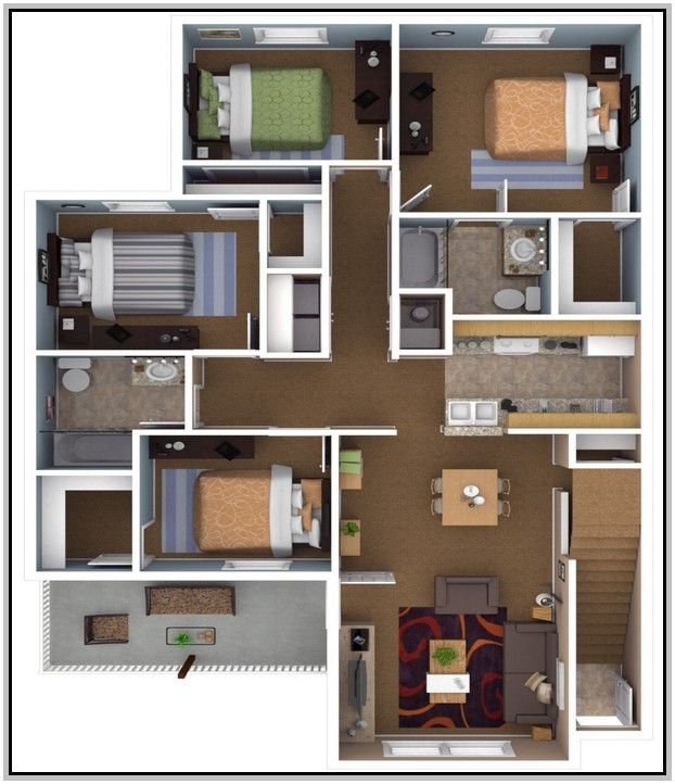 La Apartments Cheap: Cheap 4 Bedroom Apartments
