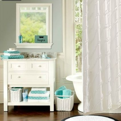 Wonderful Knockout Knockoffs: Pottery Barn Teen Dottie Bathroom