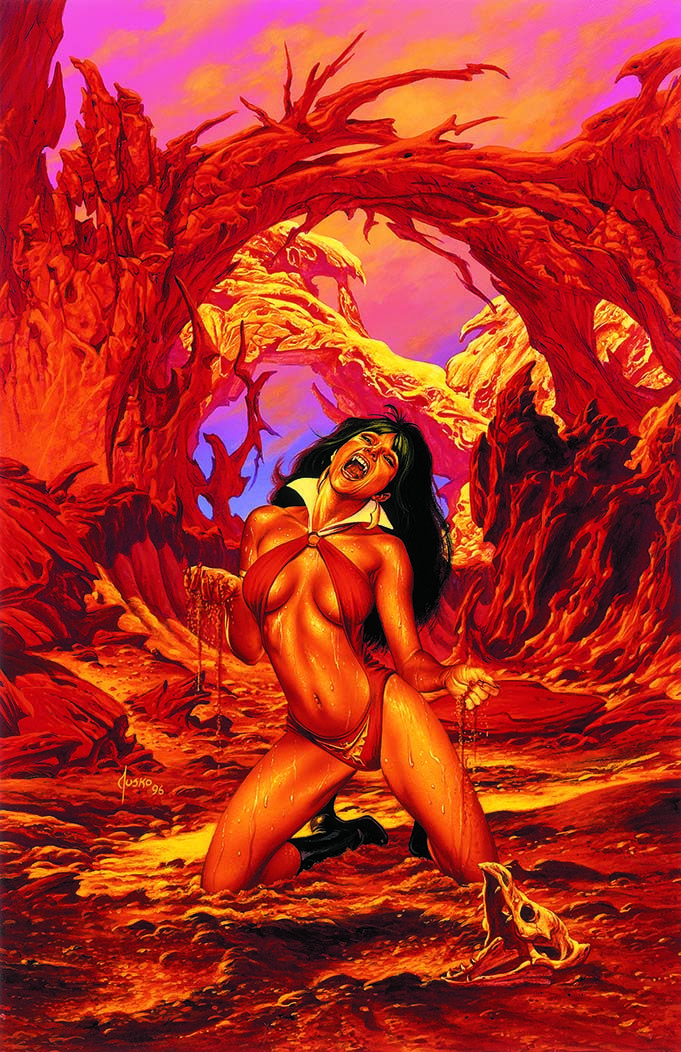 Vampirella Artists Jose Gonzalez