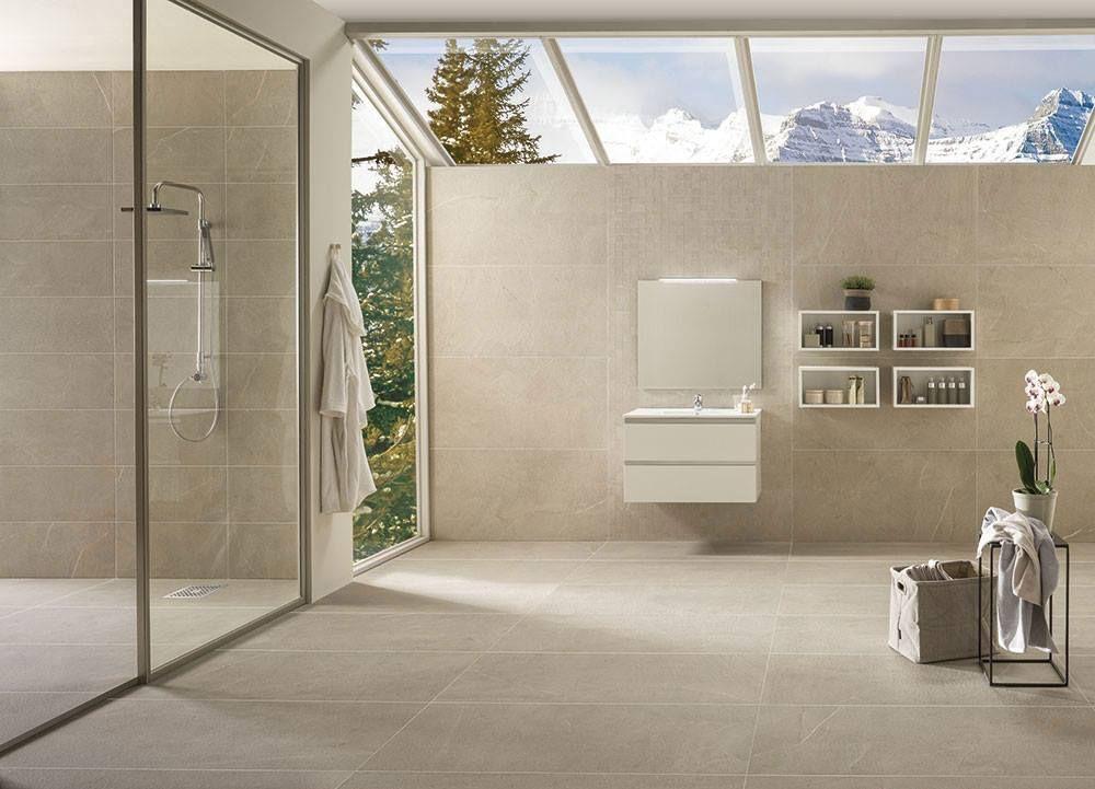 Sabia Sand Olive #Italian porcelain #tiles re-create the #elegant ...