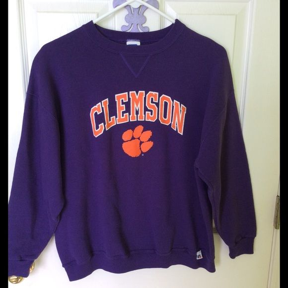 Clemson Sweatshirt | Clemson sweatshirt, Xl girls and Athletic