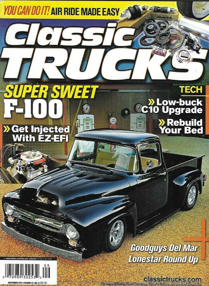 Classic Trucks Magazine F100 LowBuck C10 Upgrade Rebuild