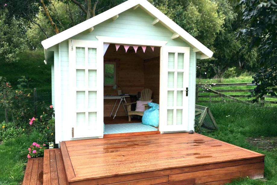 Convert Shed To Office Building A Shed Backyard Sheds Outdoor Sheds