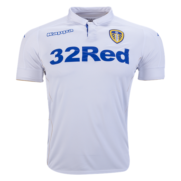 Leeds United 16 17 Home Soccer Jersey Worldsoccershop Com Worldsoccershop Com Leeds Soccer Jersey Leeds United Mens Tops Soccer Gifts