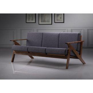 <strong>Wholesale Interiors</strong> Leyton Mid-Century Modern Sofa
