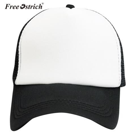 e255a1a6ce6 Free Ostrich Baseball Cap Casual Mesh Cap Hats For Men Women Patchwork  Gorras Hombre Hats Hip Hop Caps Dropshipping A3120