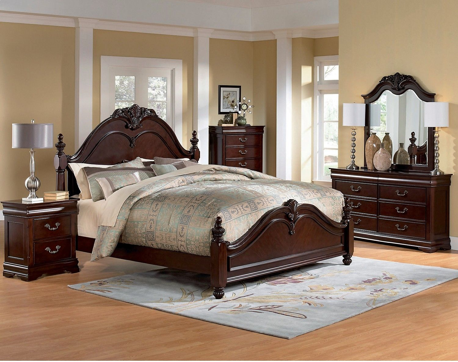 Westchester 5Piece Queen Bedroom Set  King Bedroom Warehouse Inspiration King And Queen Bedroom Decor Decorating Design