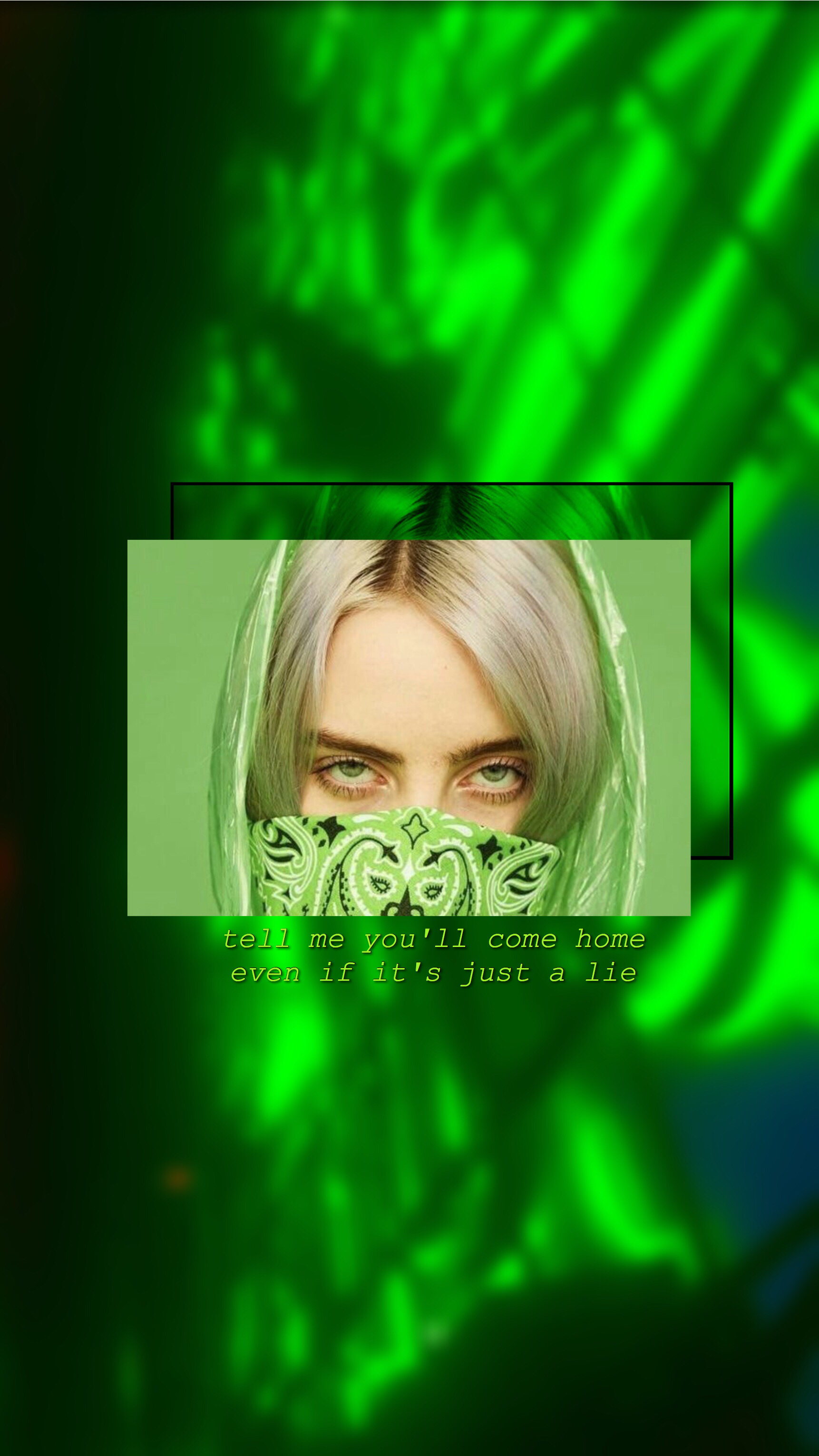 Billie Eilish Ilomilo Green Aesthetic Wallpaper Lockscreen Dark Green Aesthetic Green Aesthetic Black Aesthetic Wallpaper