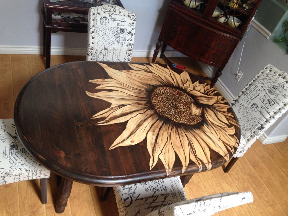 Wood Table Diy