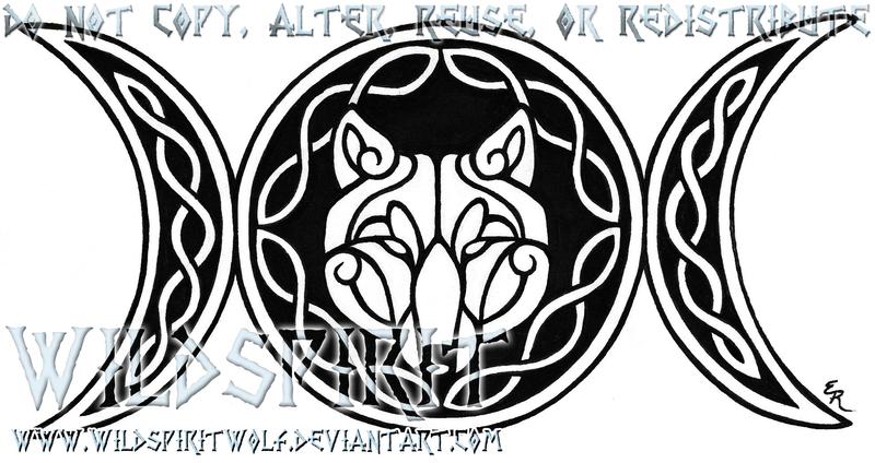 Wolven Triple Goddess Tattoo By Wildspiritwolf On Deviantart Goddess Tattoo Wiccan Tattoos Moon Tattoo