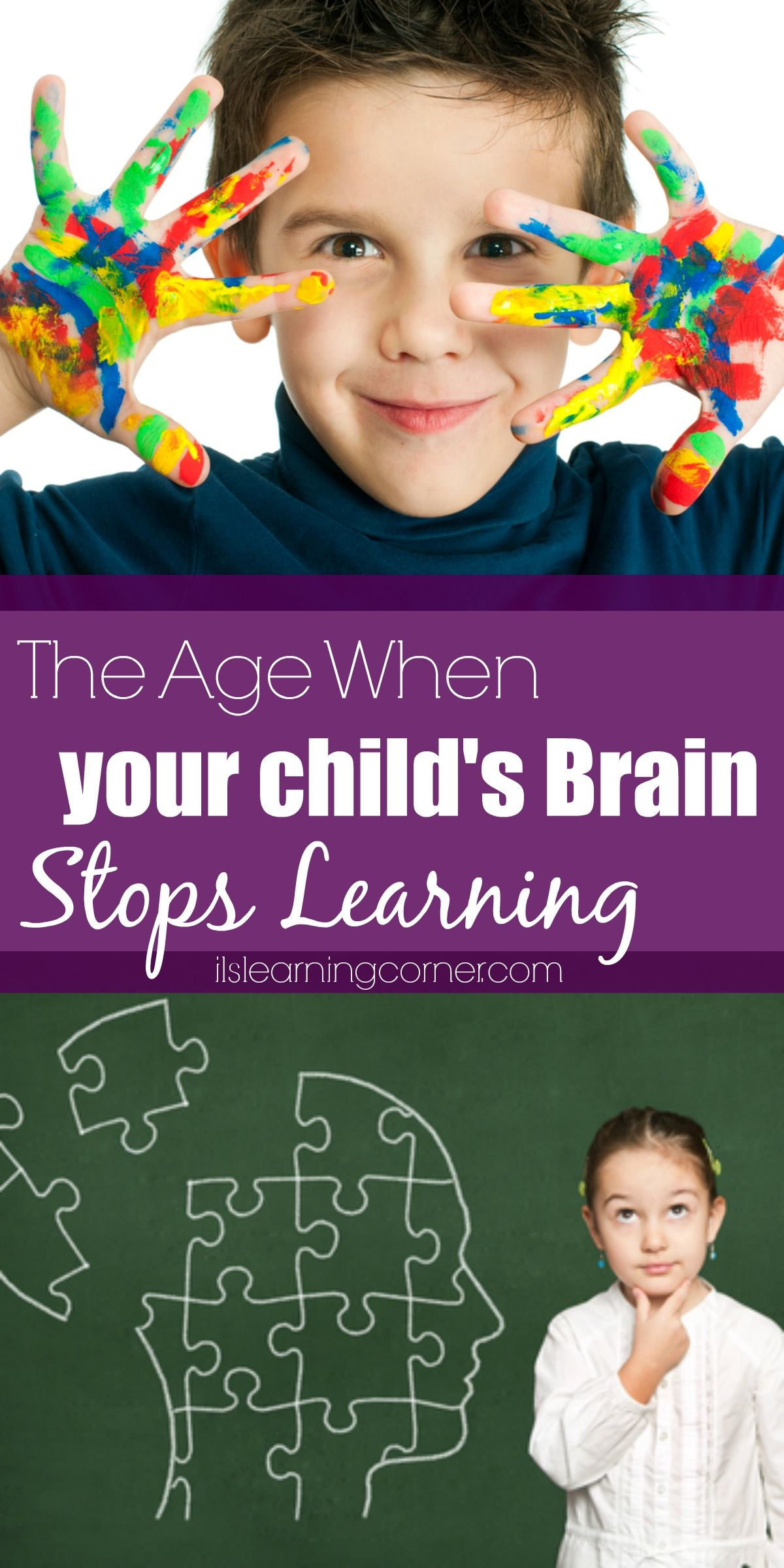 The Age When Your Child's Brain Stops Learning | ILS Kids