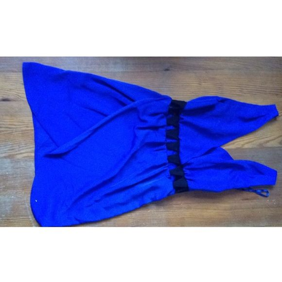 Blue dress Cute, worn once. From ASOS Like new. Size small. Dresses