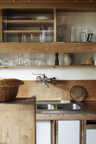 Photo of intérieur contemporain, déco : cuisine, bois, neutre, photo