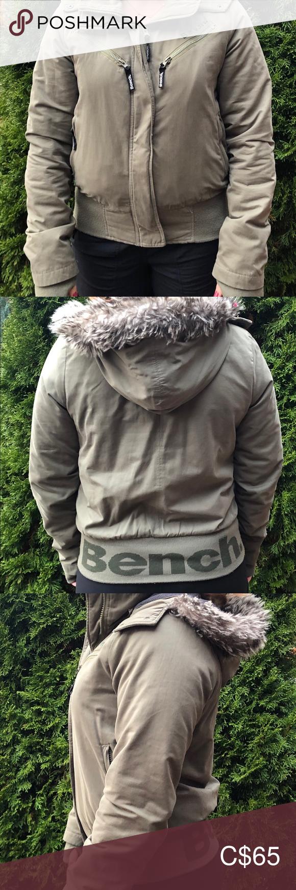 Green Winter Bench Jacket Size Medium Bench Jackets Jackets Green Winter Jacket [ 1740 x 580 Pixel ]