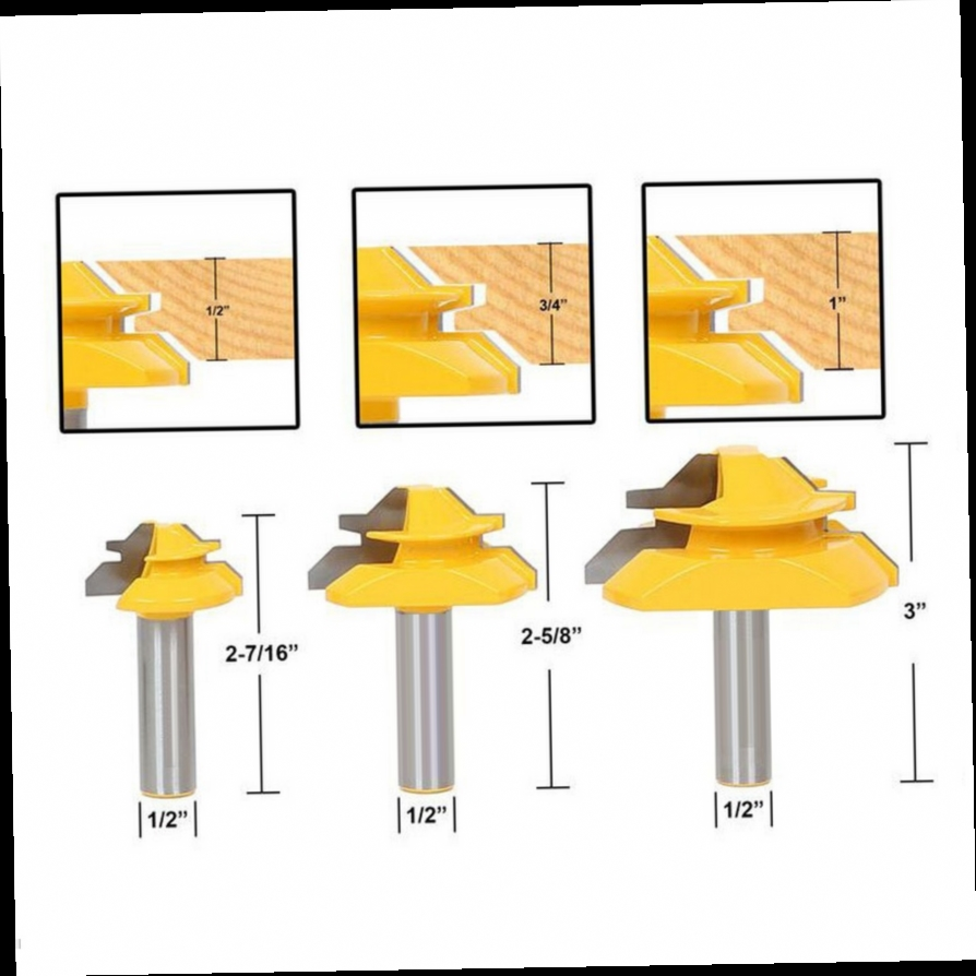 50.00$  Buy here - http://ali7jp.worldwells.pw/go.php?t=32785135080 - 3pcs/ woodworking tools Tenon Knife Router Bits Wooden Door knife Set Wood Milling cutter wood cutter tools