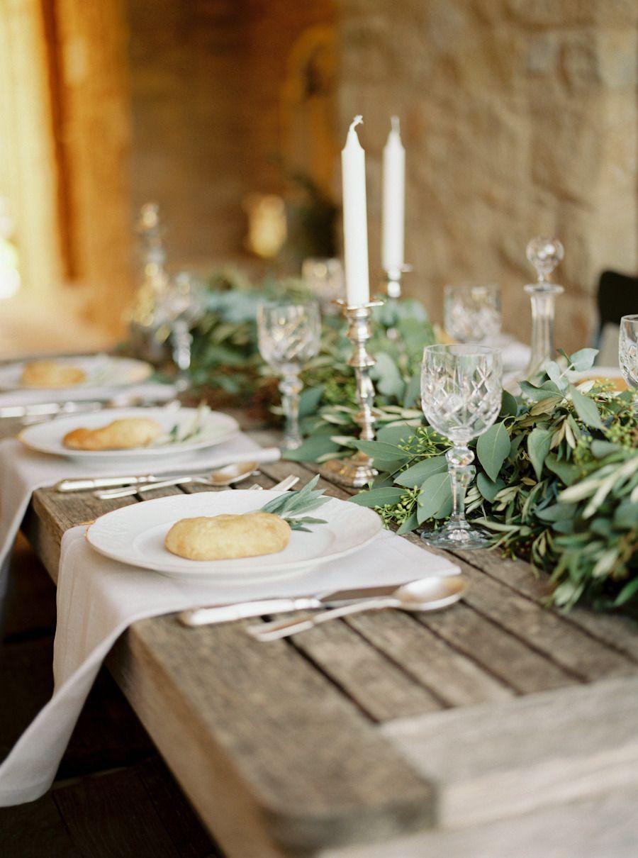 Organic Al Fresco Mediterranean Wedding Inspiration Mediterranean