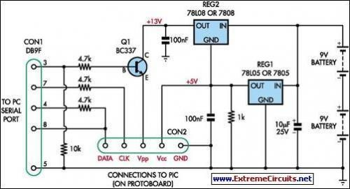 Enjoyable Simple Universal Pic Programmer Circuit Diagram Rosenjohnwired In Wiring Cloud Nuvitbieswglorg