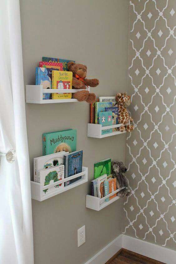 Organization Wall Shelves Ideas For Kids Room
