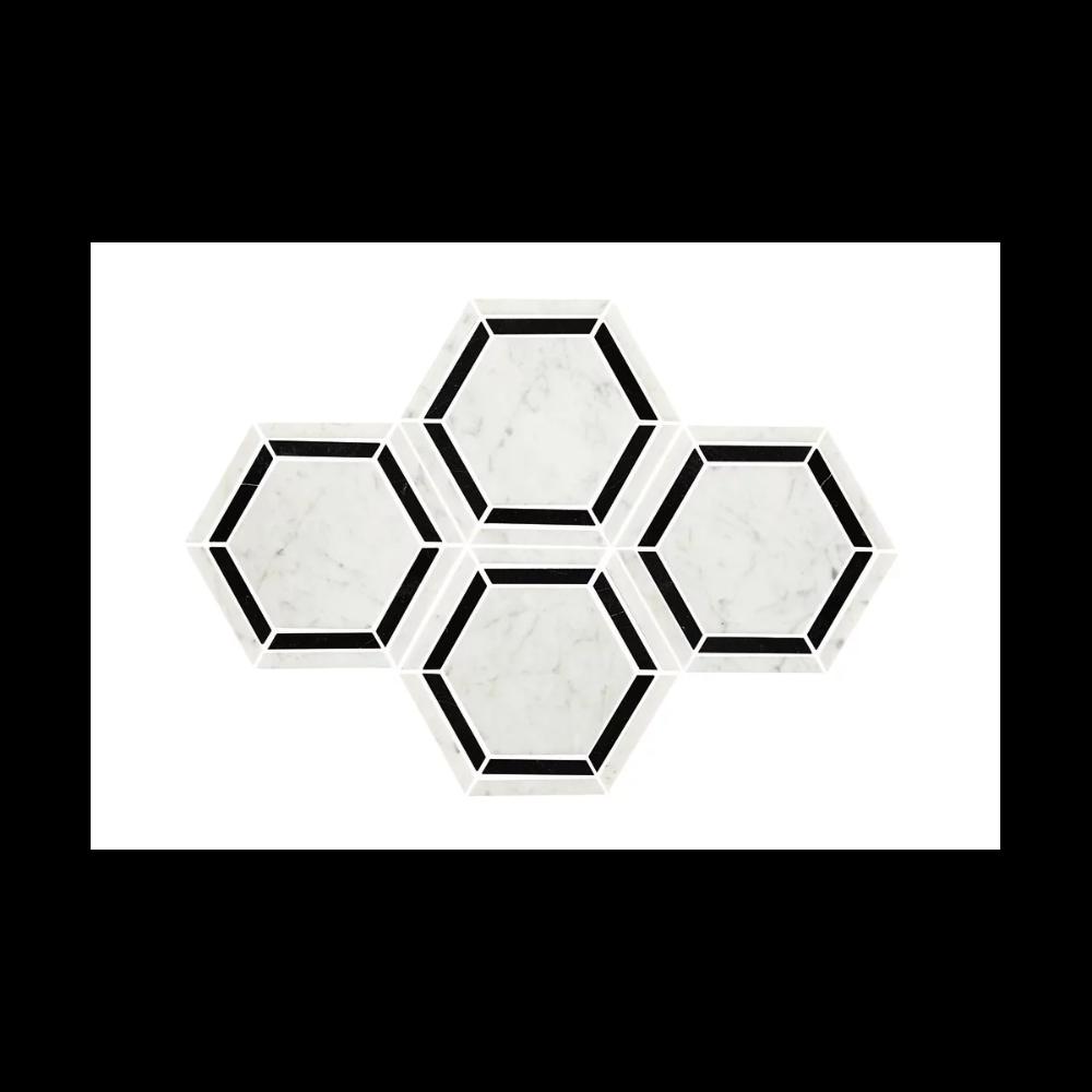 Daltile M6hexmsl Build Com Hexagonal Mosaic Hexagon Mosaic Tile Daltile