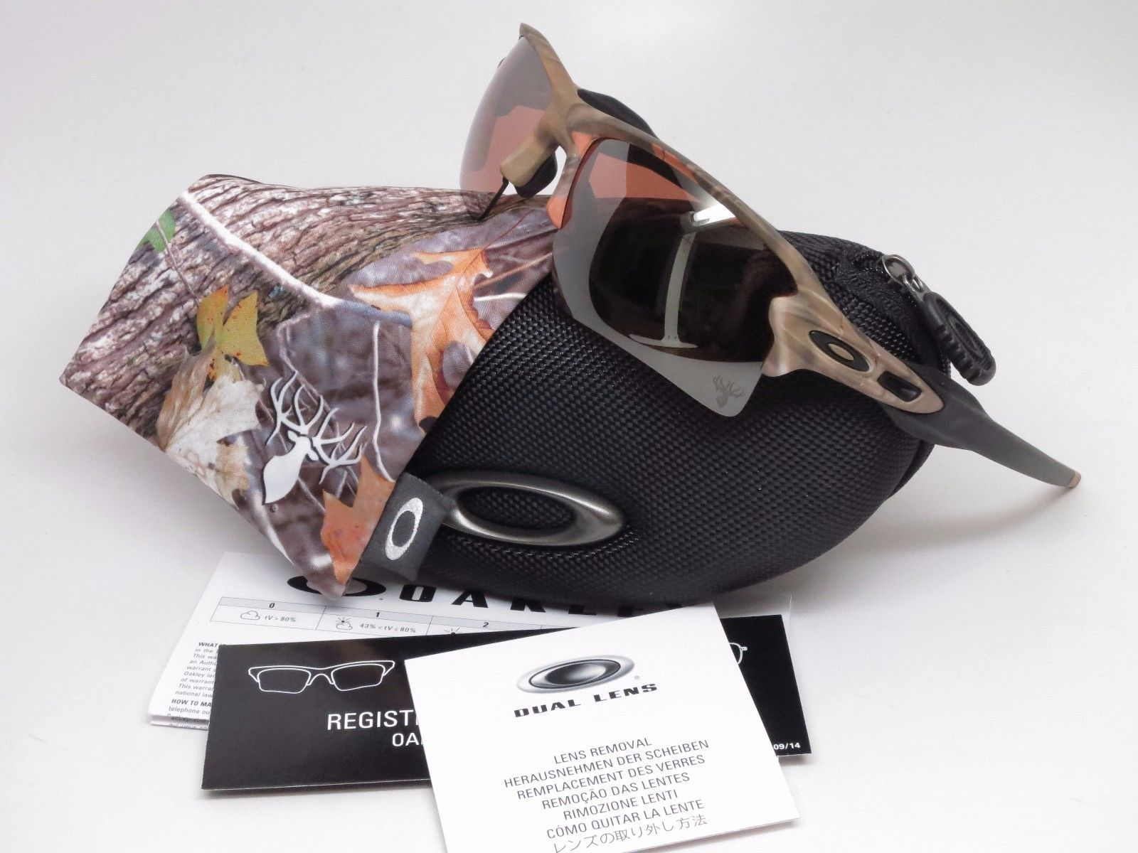 702ecaaf14f Oakley Flak 2.0 XL OO9188-55 Woodland Camo w VR28 Black Iridium Sunglasses