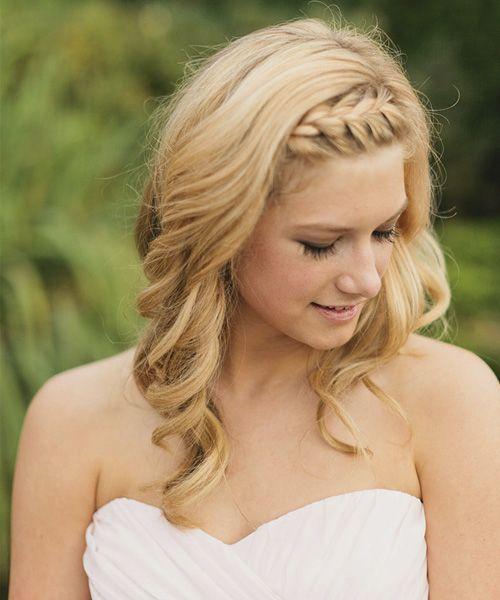Wedding Hairstyles For Jr Bridesmaids: Junior Bridesmaid Hair, Medium Hair
