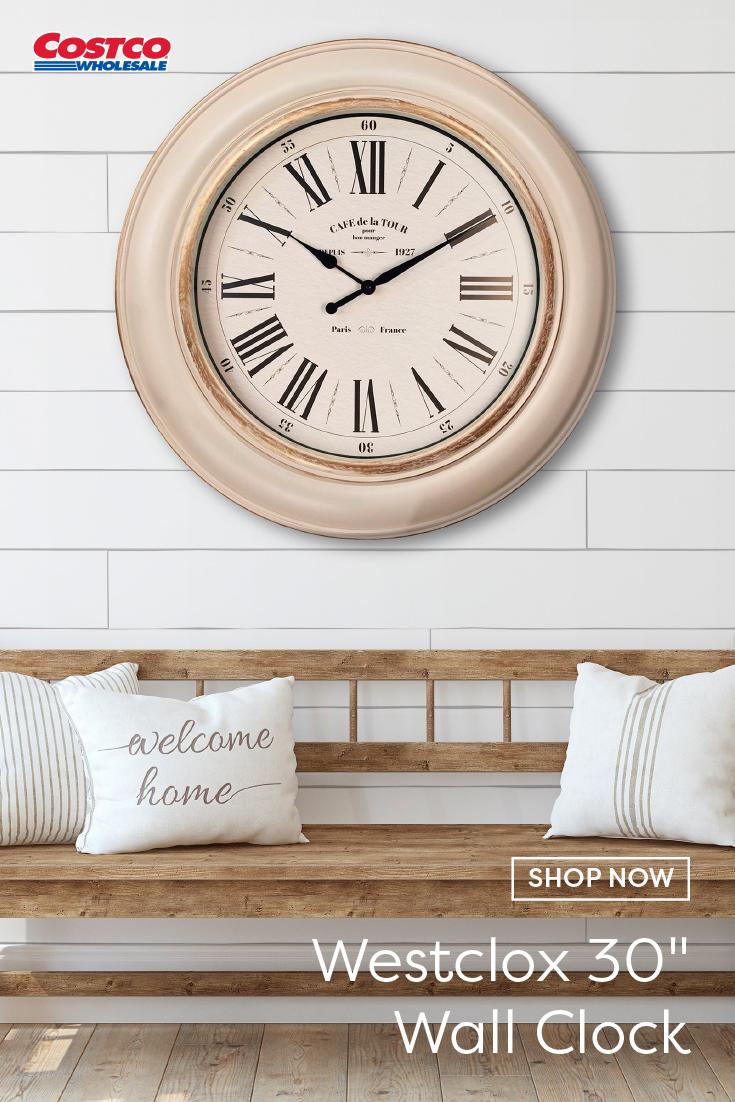 Westclox 30 Wall Clock Wall Clock Clock Wall