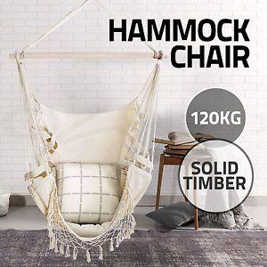 deluxe hammock chair hammocks hanging chair swing indoor outdoor camping tassel deluxe hammock chair hammocks hanging chair swing indoor outdoor      rh   pinterest