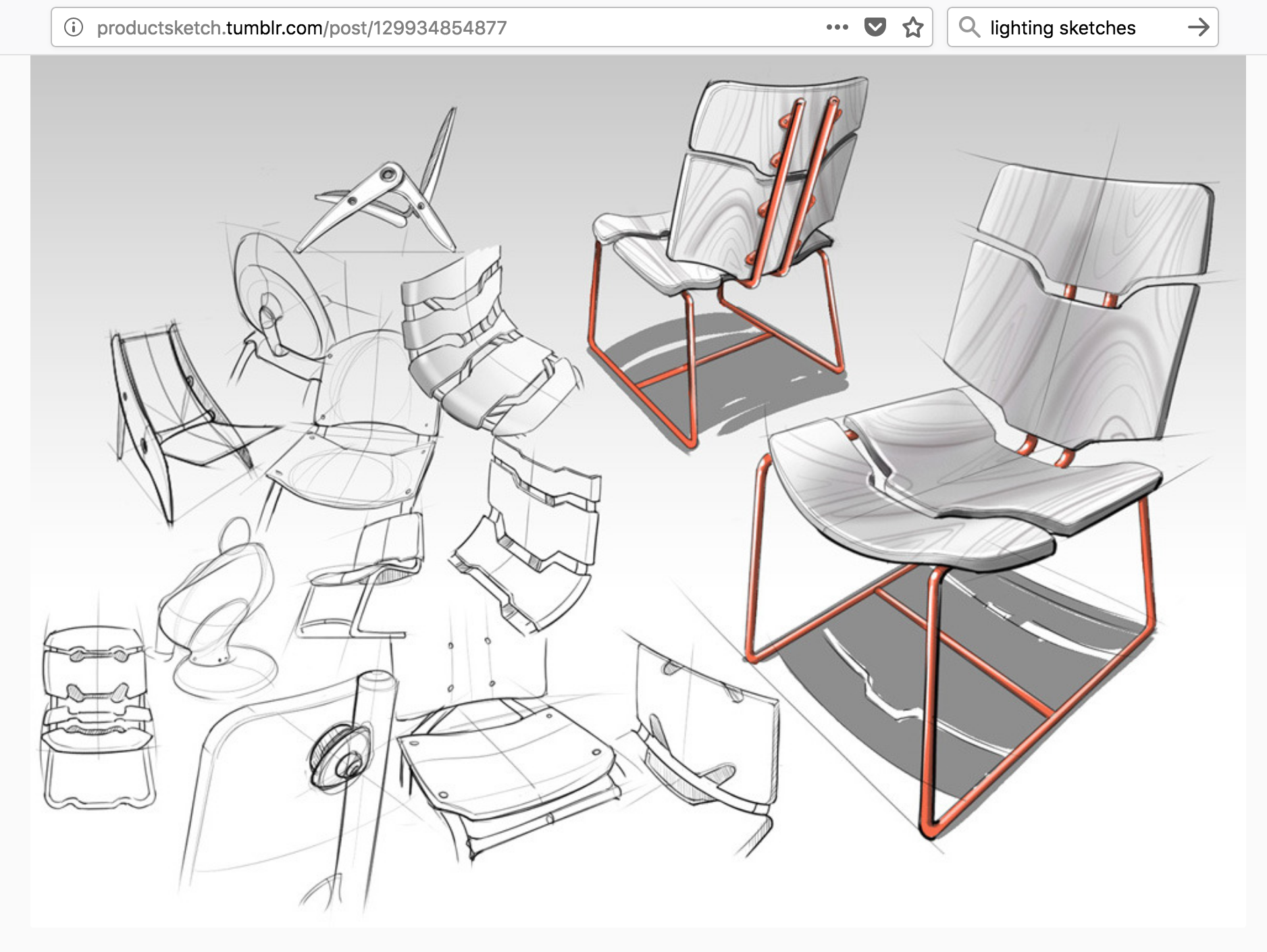 Sketch Composition Design Sketch Sketches Furniture Design Sketches