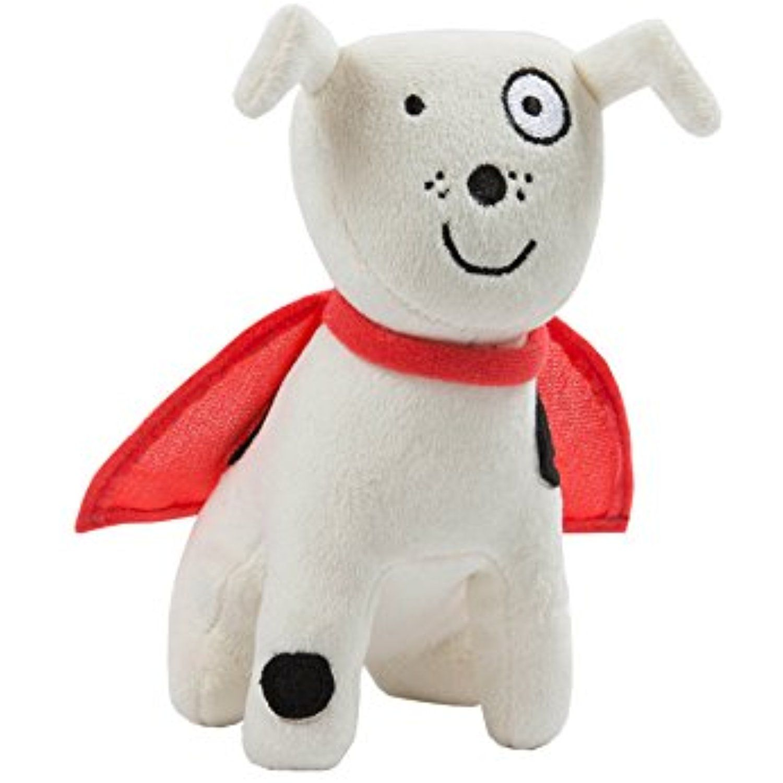 North American Bear Company Todd Parr Dog Plush, White