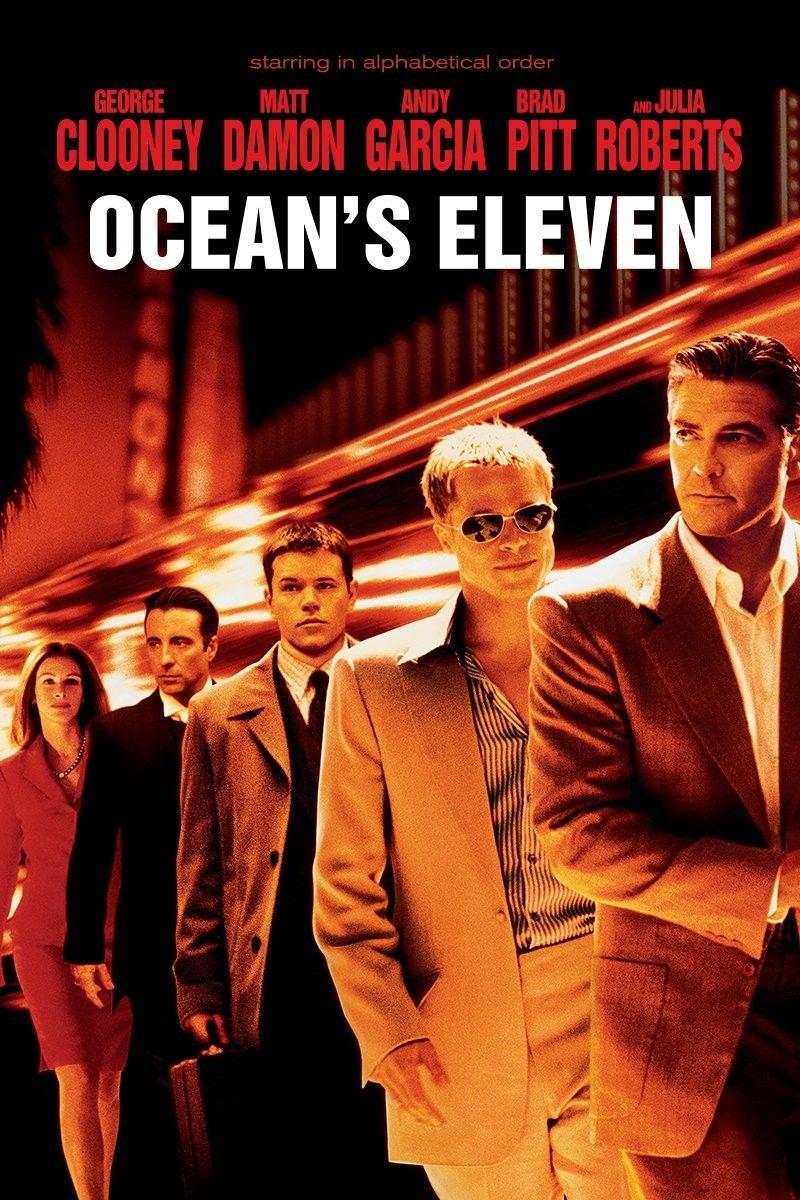 Ocean\'s Eleven 8/10 | Maria-art-POSTERS-PELICULAS-MOVIES | Pinterest ...