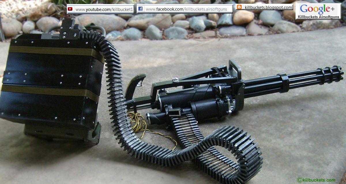 Minigun Bullet Dillon Aero M134 Gatli...