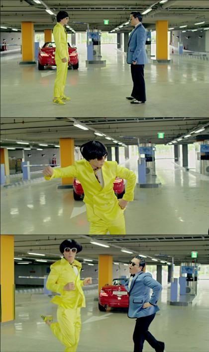 Psy S Kangnam Style Teaser 2 Dance Battle With Yoo Jae Suk Video Oh Kpop Stars Celebrity News And Gossip