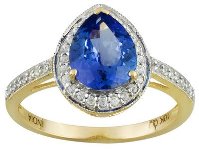 """This would be a gorgeous """"something blue"""" for a bride on her wedding day! 