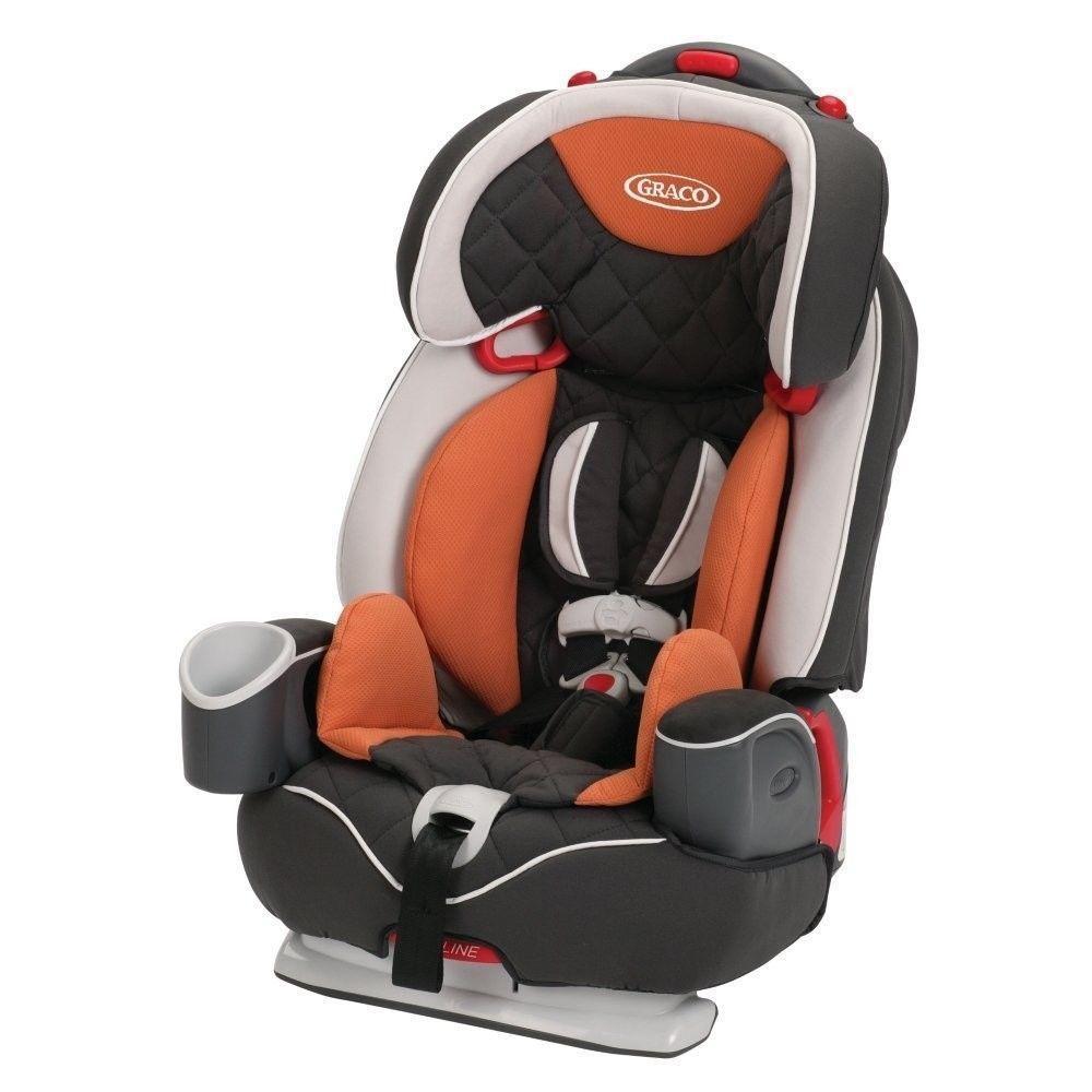 Baby Auto Seat Graco Nautilus Elite 3 In 1 Car Tangerine