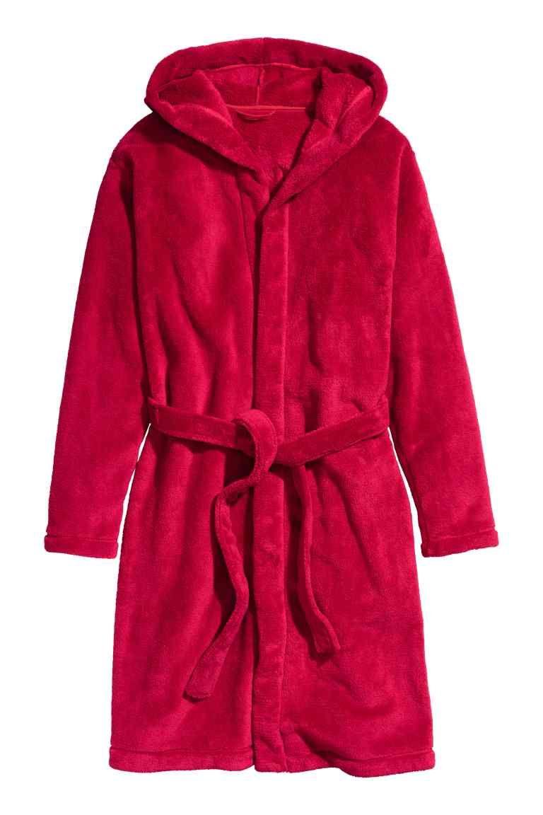 Robe em tecido polar   H&M