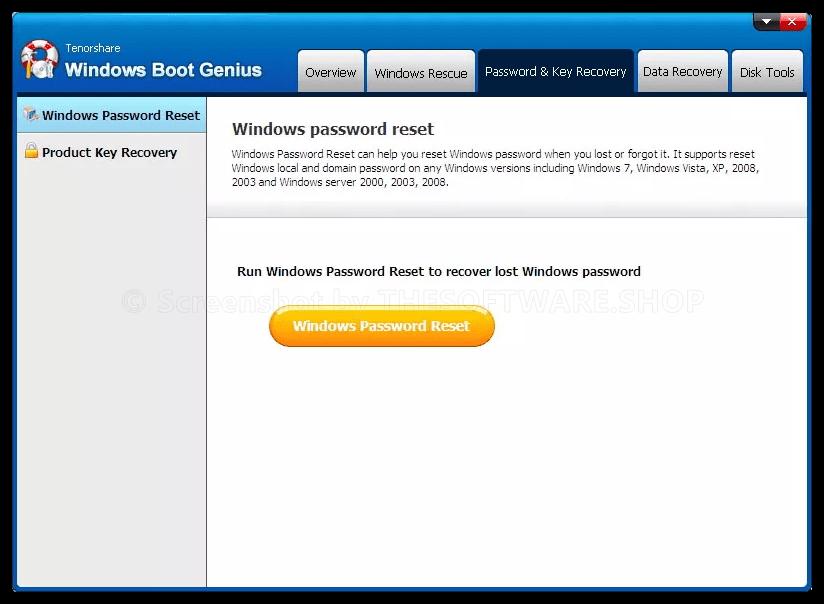 Tenorshare Windows Boot Genius Review - Free Full Version