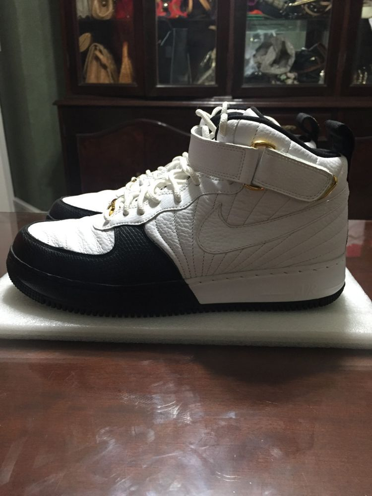 watch b790c 7015a Nike Air Force I Jordan XII (12) Fusion Taxi Size 10 Men White Black   fashion  clothing  shoes  accessories  mensshoes  athleticshoes (ebay link)