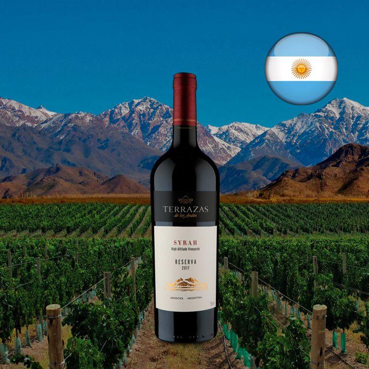 Terrazas De Los Andes Reserva Syrah 2017 Em 2020 Cabernet Sauvignon Bisteca Suina Malbec