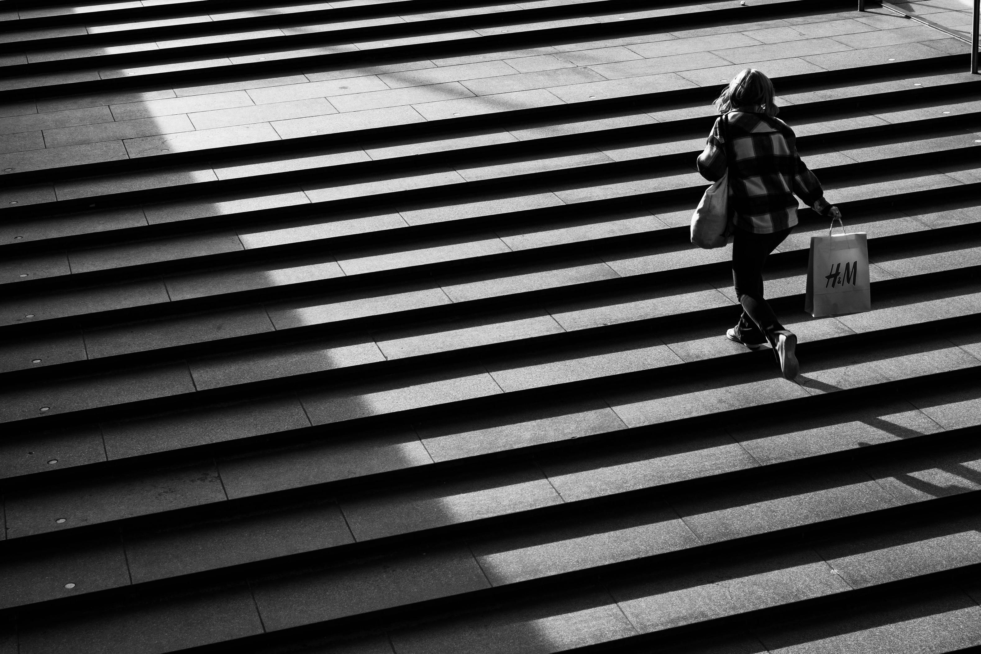 ITAP of a girl on some stairs in RotterdamPHOTO CAPTURE