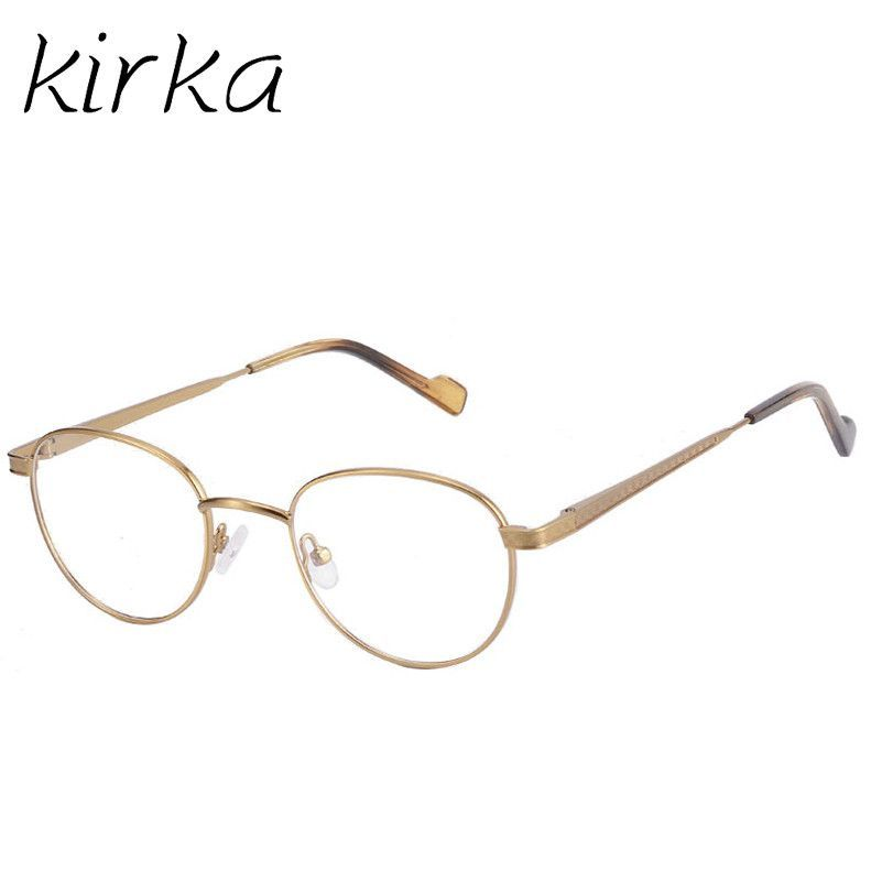 Kirka Metal Elegant Women Glasses Frame Female Vintage Optical ...