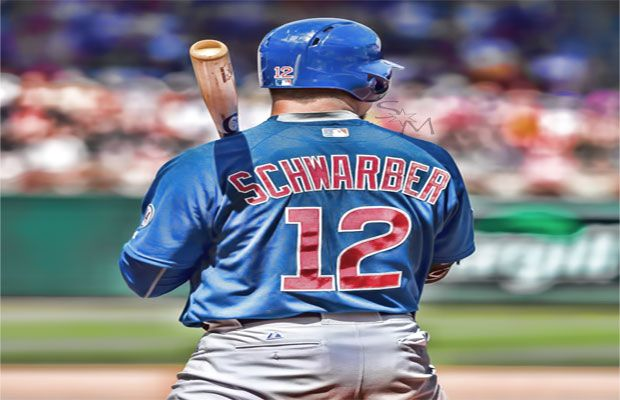 Kyle Schwarber S 162 Game Hitting Projections Would Win A Triple Crown Chicago Cubs Fans Kyle Schwarber Chicago Cubs Baseball