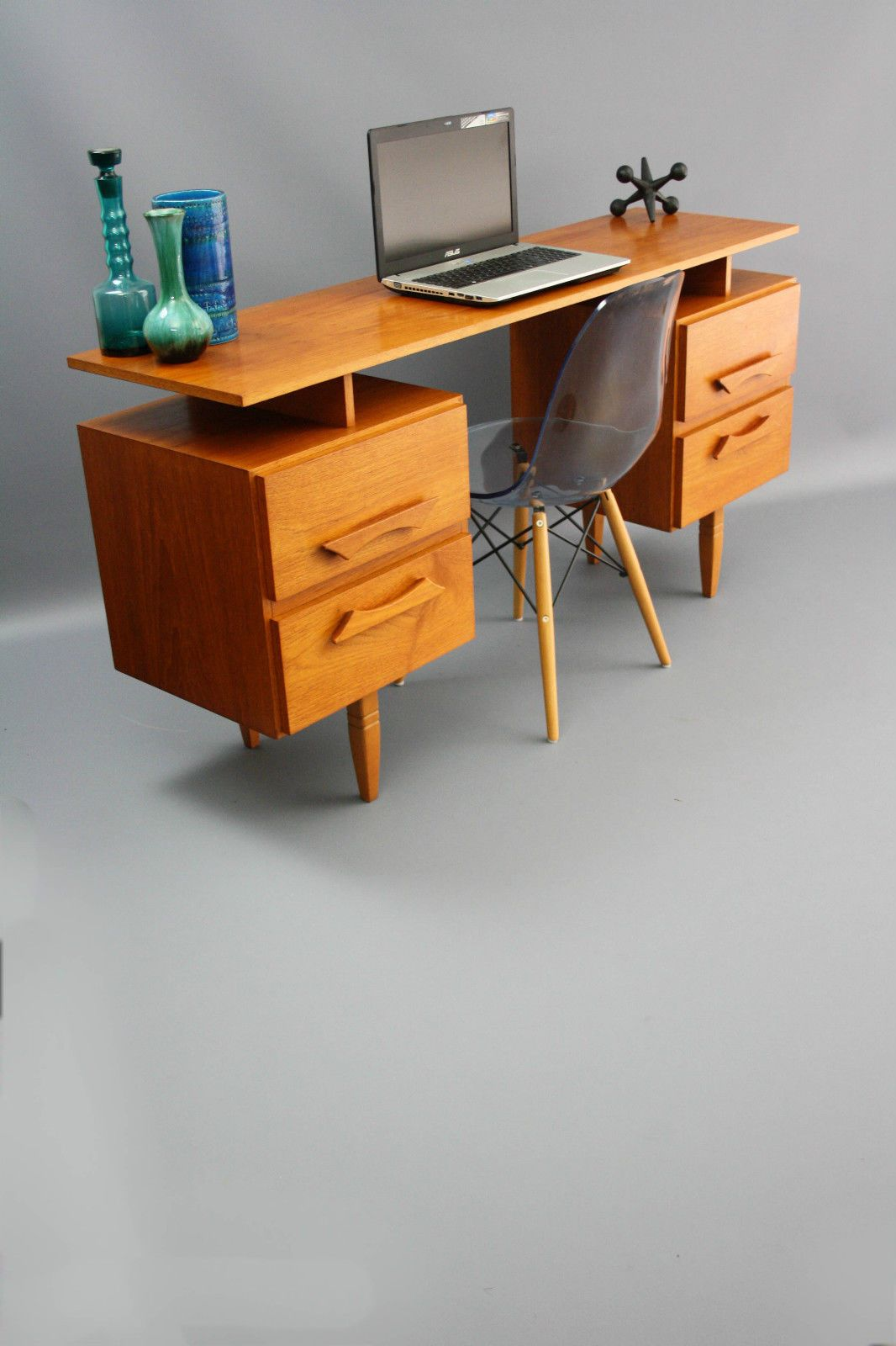 Mid Century Burgess Floating Top Vintage Retro Desk Hall Table Console Sideboard Danish 360 Modern Furniture Vic Modern Furniture Furniture Furniture Design