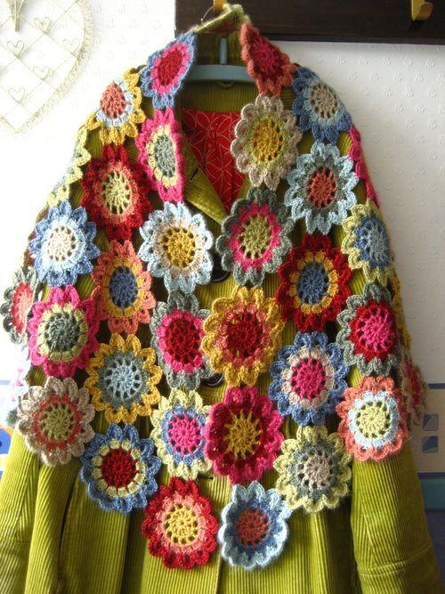 Img1569 Haken Pinterest Japanse Bloemen Haken En Sjaal