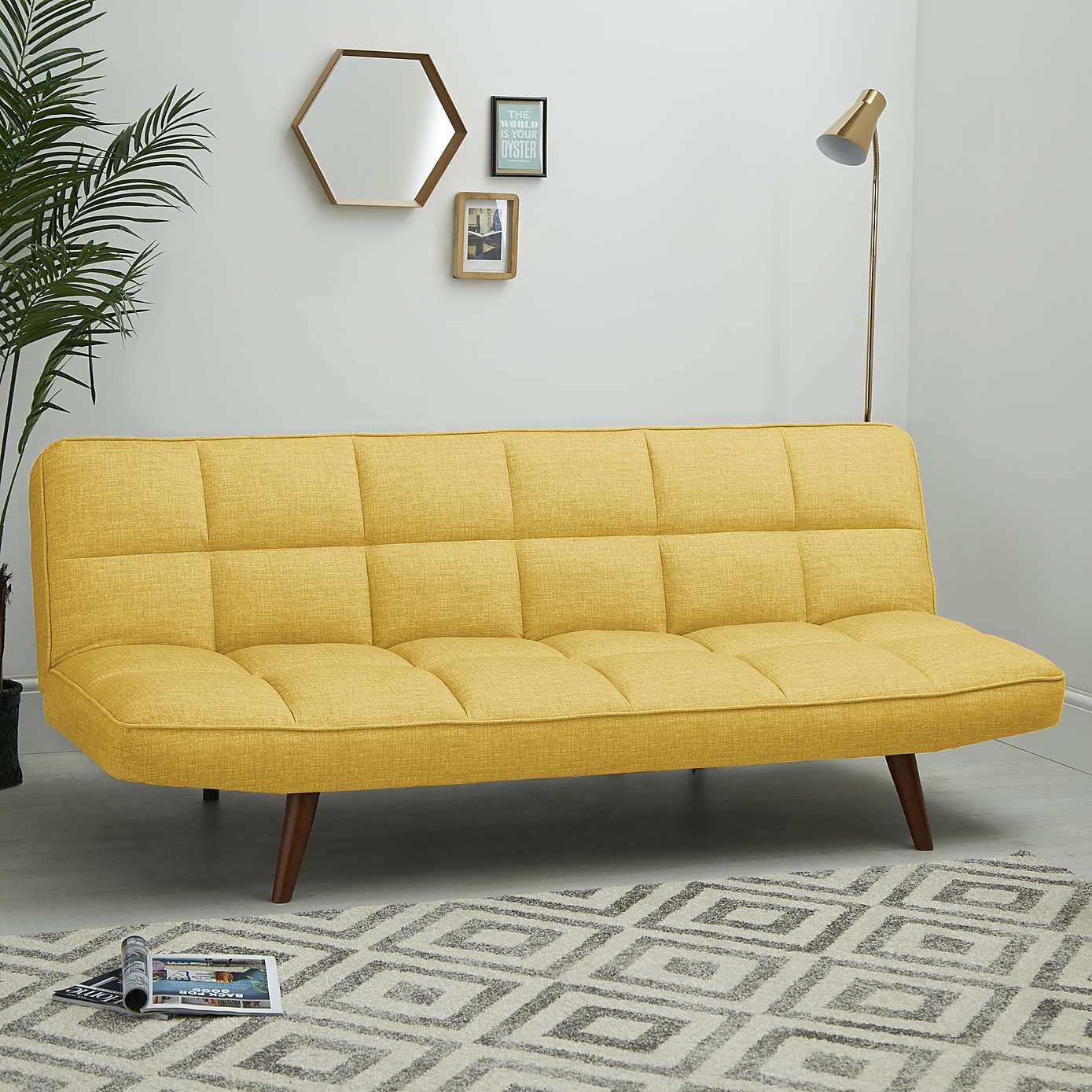 Magnificent Xander Colour Pop Clic Clac Sofa Bed Mustard In 2019 Pdpeps Interior Chair Design Pdpepsorg