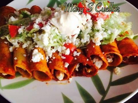 enchiladas rojas ��� recipe in 2019 yummy in my tummy