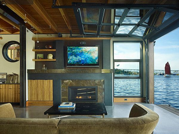 Lovely Spaces · Stunning Houseboats For Aquatic Living