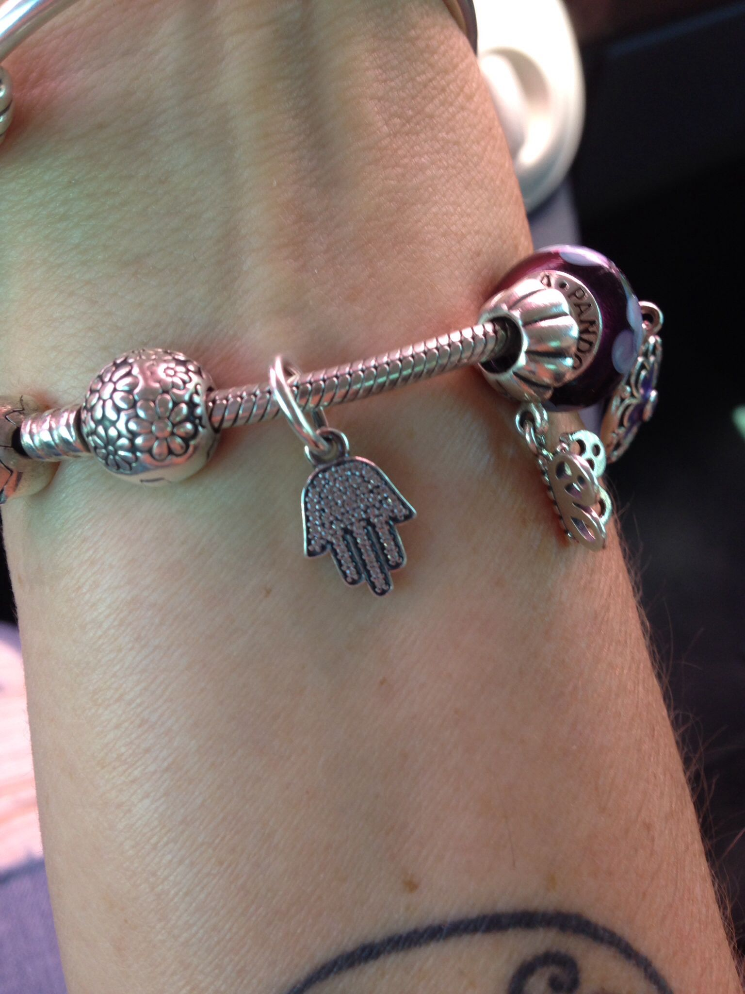 New Pandora Hamsa charm. | Fabulosity