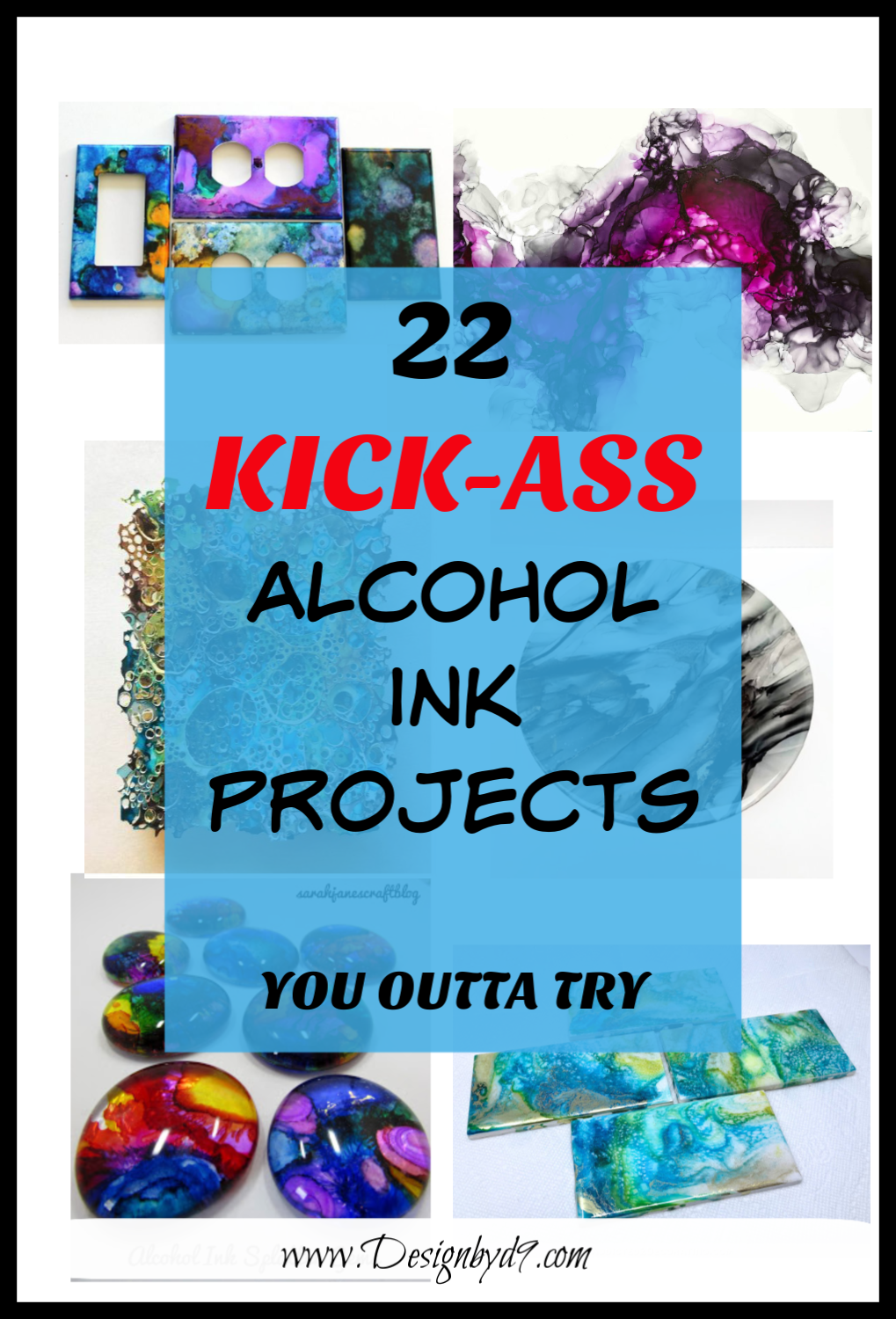22 Alcohol Ink Projects