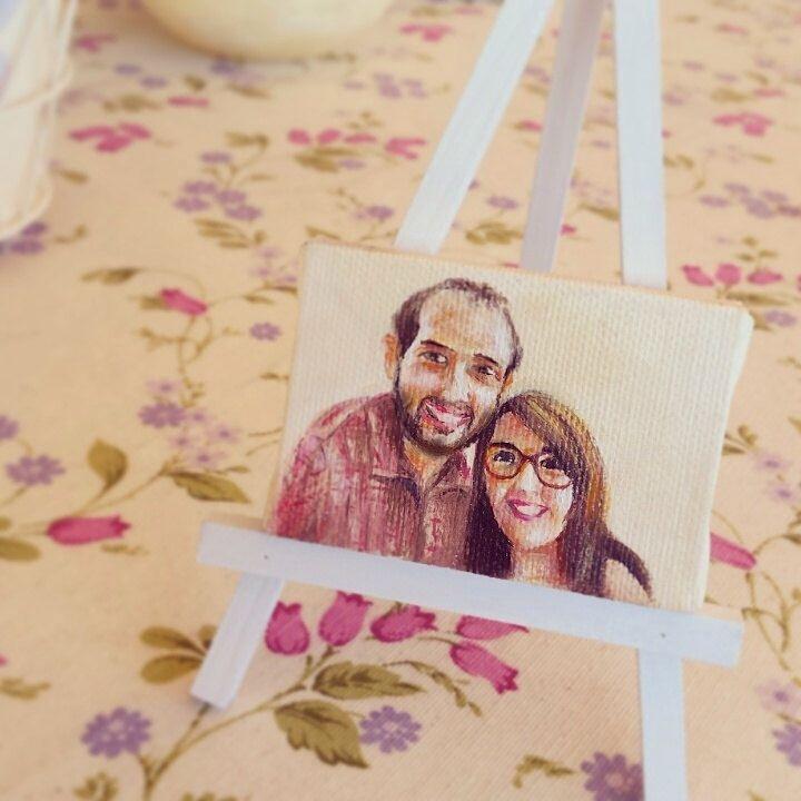Mini cuadros personalizados, especial para parejas (7x5 cm) de ArtesAnnart en Etsy https://www.etsy.com/es/listing/222444222/mini-cuadros-personalizados-especial