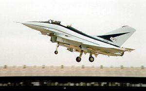 ファーンボロー国際航空ショーでのEAP(1986年)